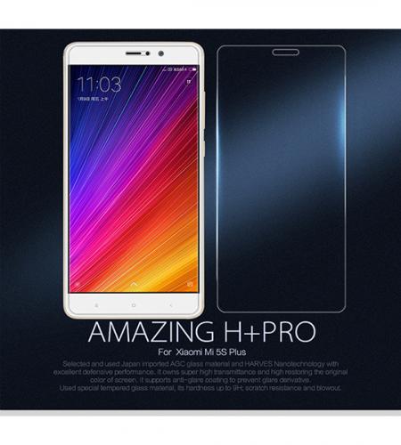 Защитное стекло Nillkin Anti-Explosion (H+ PRO) з. края для Xiaomi Mi 5s Plus