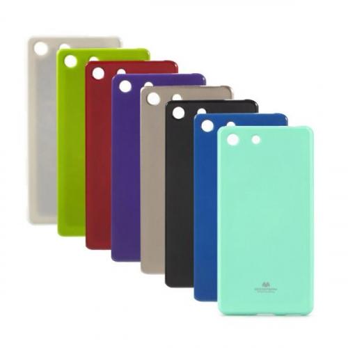 TPU чехол Mercury Jelly Color series для Sony Xperia M5 / Xperia M5 Dual