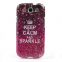 "TPU чехол Print ""Keep Calm And Sparkle"" для Samsung i9300 Galaxy S3"