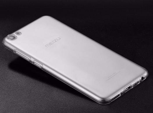TPU чехол Ultrathin Series 0,33mm для Meizu U10
