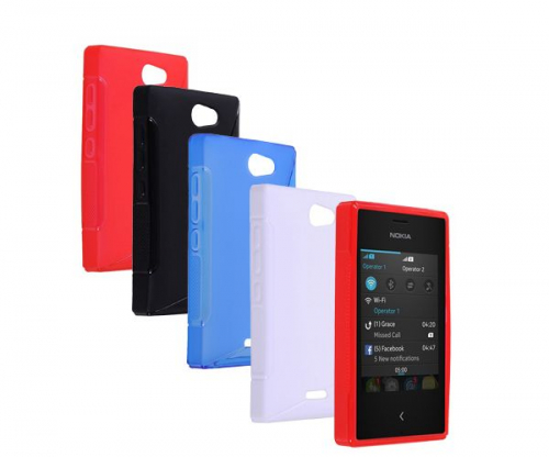 TPU Duotone для Nokia Asha 502 Dual Sim
