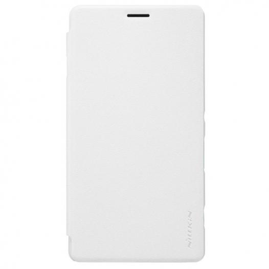 Кожаный чехол (книжка) Nillkin Sparkle Series для Sony Xperia C4