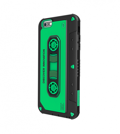 Пластиковая накладка Nillkin Music series для Apple iPhone 6/6s plus (5.5