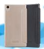Кожаный чехол (книжка) Nillkin Sparkle Series для Sony Xperia M4 Aqua