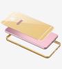 Металлический бампер с пластиковой вставкой для Samsung A310F Galaxy A3 (2016)