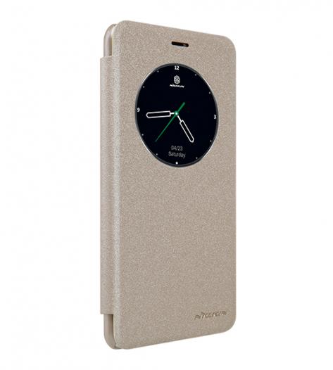Кожаный чехол (книжка) Nillkin Sparkle Series для Meizu MX6