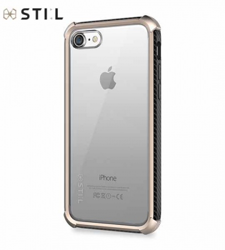 TPU+PC чехол STIL Clear Watch Series для Apple iPhone 7 (4.7