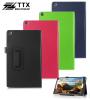 Кожаный чехол-книжка TTX с функцией подставки для Asus ZenPad 8.0 (Z380C)