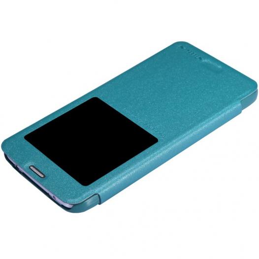 Кожаный чехол (книжка) Nillkin Sparkle Series для Samsung G900 Galaxy S5