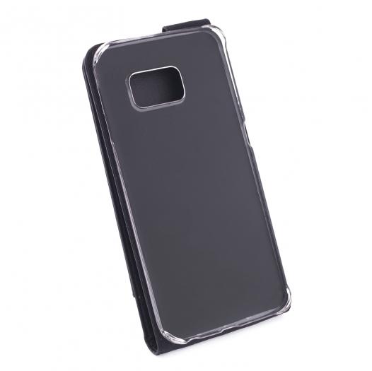 Кожаный чехол (флип) Valenta для Samsung G925F Galaxy S6 Edge