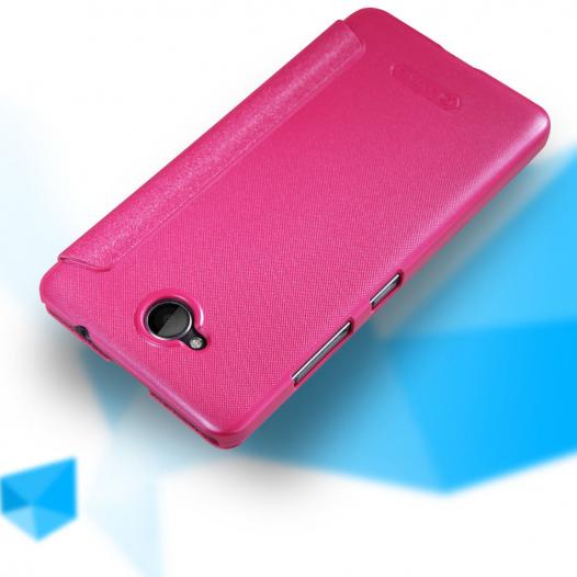 Кожаный чехол (книжка) Nillkin Sparkle Series для Microsoft Lumia 650