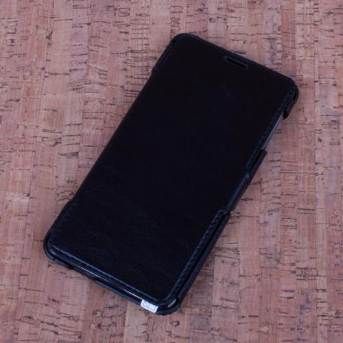 Кожаный чехол (книжка) Valenta для Samsung J700H Galaxy J7