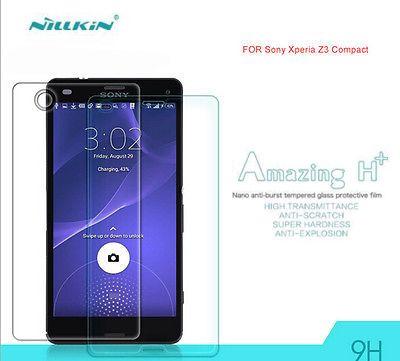 Защитное стекло Nillkin Anti-Explosion Glass Screen (H+) (закругл. края) для Sony Xperia Z3 Compact