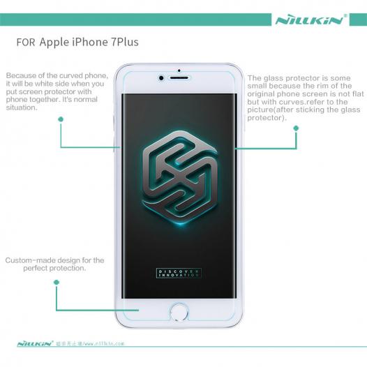 Защитное стекло Nillkin Anti-Explosion Glass (H) для Apple iPhone 7 plus (5.5