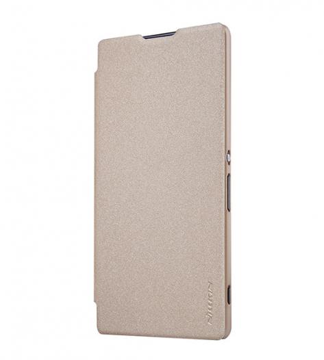 Кожаный чехол (книжка) Nillkin Sparkle Series для Sony Xperia XA Ultra Dual