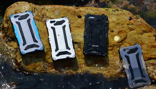 Водонепроницаемый противоударный металлический чехол настоящих экстремалов для Apple iPhone 6/6s (4.7