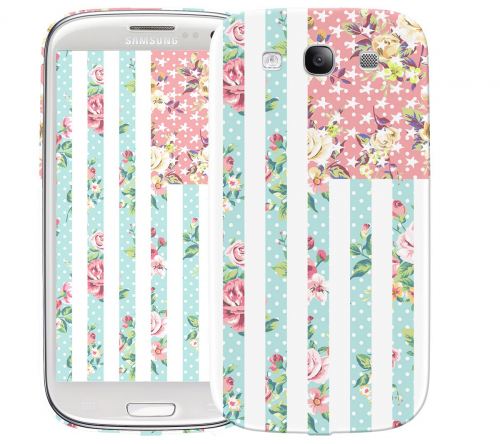 Чехол «Цветы Америка» для Samsung Galaxy s3