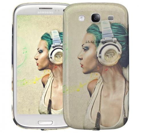 Чехол «Music» для Samsung Galaxy s3