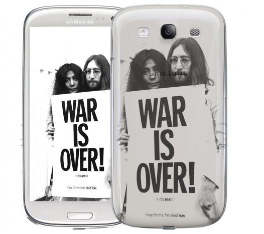 Чехол «War is over» для Samsung Galaxy s3