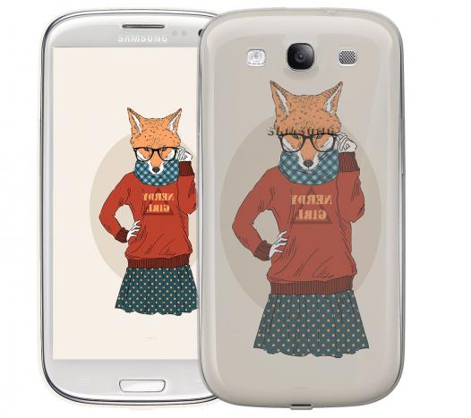 Чехол «Nerdy girl» для Samsung Galaxy s4 / Galaxy S4 mini