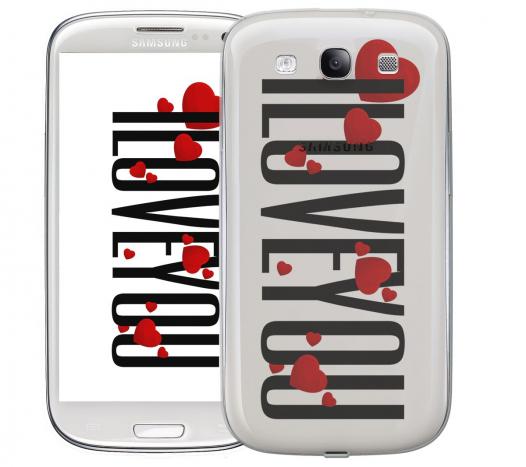 Чехол «I Love You» для Samsung Galaxy s3