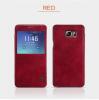 Кожаный чехол (книжка) Nillkin Qin Series для Samsung Galaxy Note 5