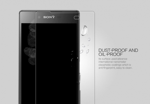 Защитное стекло Nillkin Anti-Explosion Glass (H+ PRO) (закругл. края) для Sony Xperia Z5 Premium