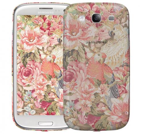 Чехол «Parrot» для Samsung Galaxy s3