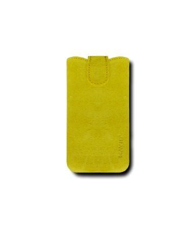 Кожаный футляр Mavis Premium VELOUR 115×59 для Apple iPhone 4/4S