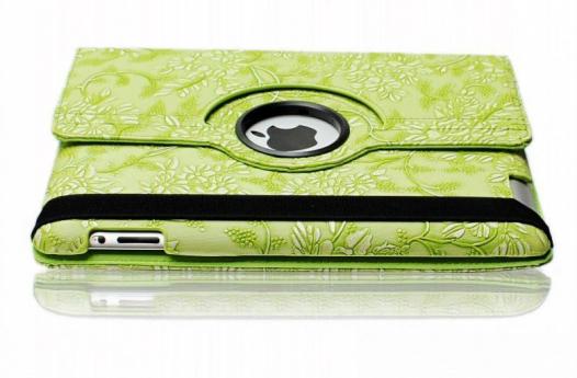 Кожаный чехол-книжка TTX (Flower) (360 градусов) для Apple iPad Air 2