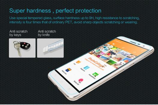 Защитное стекло Nillkin Anti-Explosion Glass (H) для Asus Zenfone 3 (ZE520KL)
