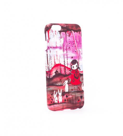 Пластиковая накладка Print для Apple iPhone 6/6s (4.7