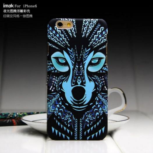 Пластиковая накладка IMAK Luminous totem shell series для Apple iPhone 6/6s (4.7