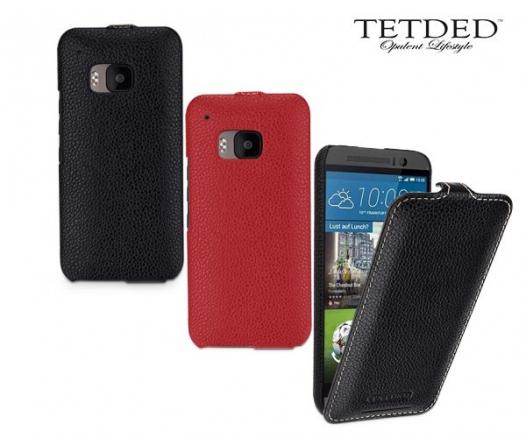 Кожаный чехол (флип) TETDED для HTC One / M9