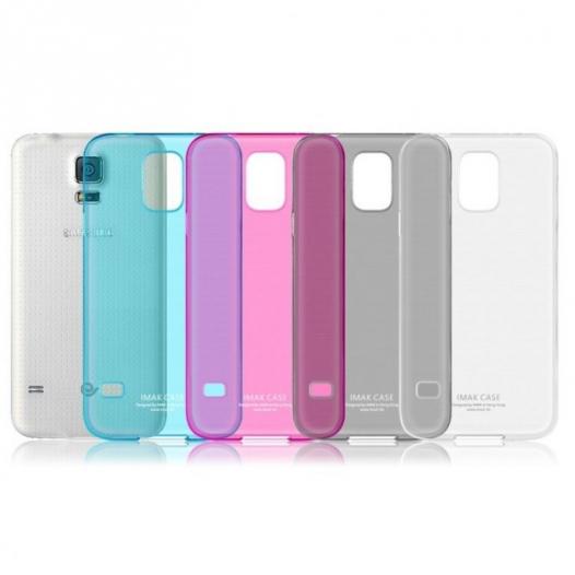 Пластиковая накладка IMAK 0,7 mm Color series для Samsung G900 Galaxy S5