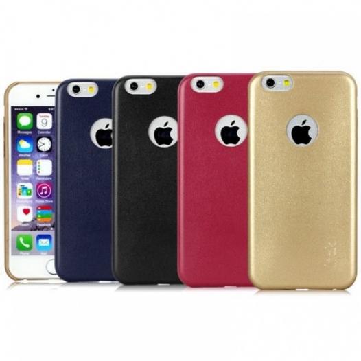 Ультратонкая кожаная накладка IMAK для Apple iPhone 6/6s (4.7