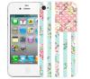 Чехол «Цветы Америка» для Apple iPhone 4/4s