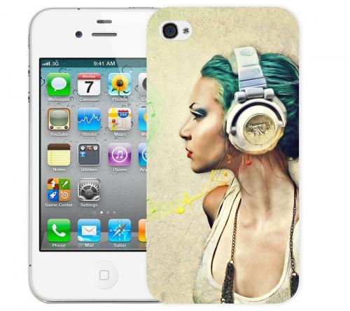 Чехол «Music» для Apple iPhone 4/4s