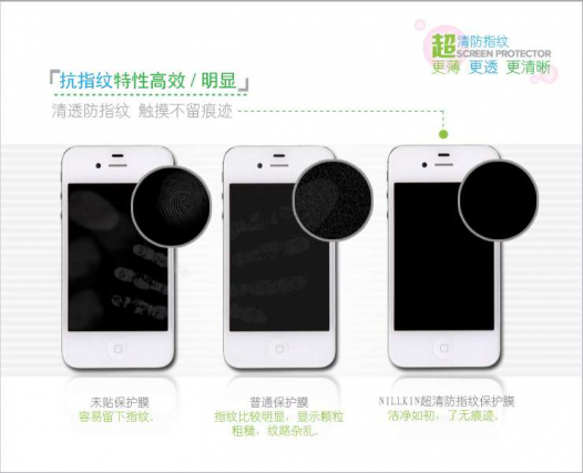 Защитная пленка Nillkin Crystal (на обе стороны) для LG E960 Nexus 4