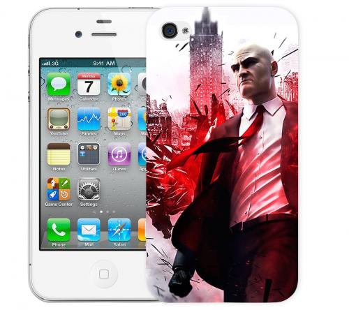 Чехол «Hitman» для Apple iPhone 4/4s