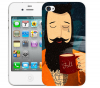 Чехол «Капитан» для Apple iPhone 4/4s