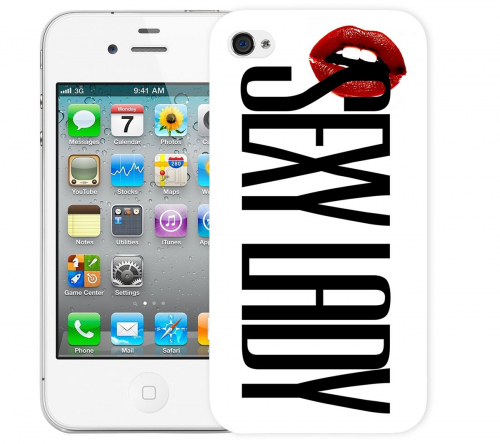 Чехол «Sexy Lady» для Apple iPhone 4/4s