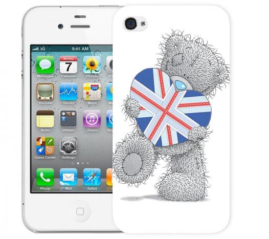 Чехол «Тедди» для Apple iPhone 4/4s