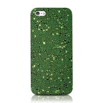 Пластиковая накладка ODOYO Mosaic Collection для Apple iPhone 5/5S (+ пленка)