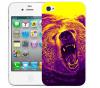 Чехол «Гризли» для Apple iPhone 4/4s