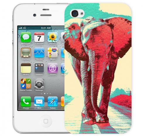 Чехол «Слон» для Apple iPhone 4/4s