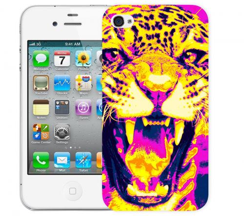 Чехол «Леопард» для Apple iPhone 4/4s