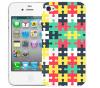 Чехол «Пазл» для Apple iPhone 4/4s