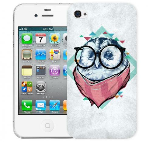 Чехол «Мудрая Сова» для Apple iPhone 4/4s