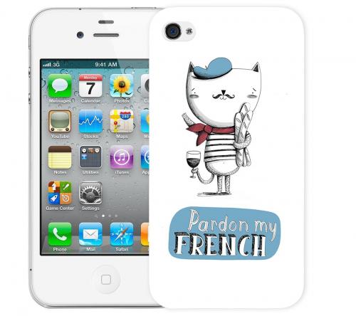Чехол «French» для Apple iPhone 4/4s